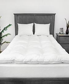 "EcoPEDIC 2.5"" MemoryLOFT Twin 100% Cotton Cover Mattress Topper"