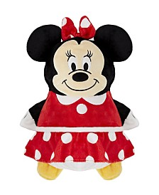 Cubcoats Toddler and Big Girls Disney Minnie Mouse 2-in-1 Stuffed Animal Hoodie