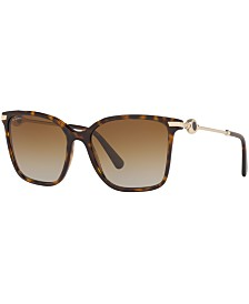 BVLGARI Polarized Sunglasses, BV8222 55
