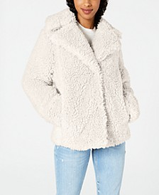 Faux-Fur Teddy Coat
