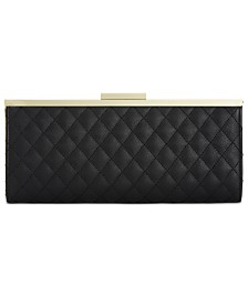 I.N.C. Carolyn Quilted Clutch, Created for Macy's