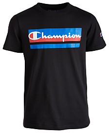 Champion Big Boys Logo-Print T-Shirt