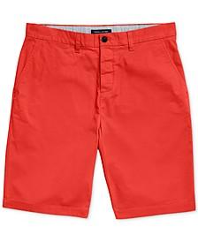 "Men's 10"" Classic-Fit Stretch Adaptive Chino Shorts"