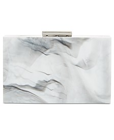 INC Inci Marble Box Clutch, Created for Macy's