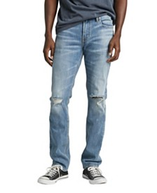 Silver Jeans Co. Konrad Slim Fit Ripped Jean