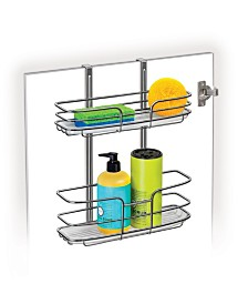 Lynk Over Cabinet Door Organizer with Molded Tray