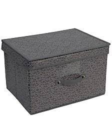 Simplify Embossed Nest Jumbo Storage Box
