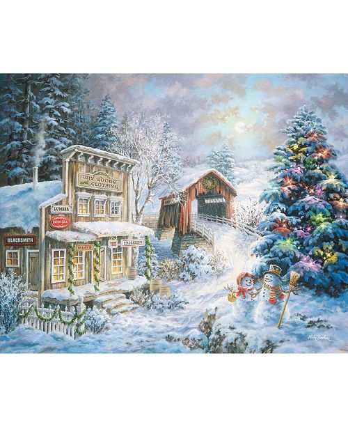 Springbok Puzzles Country Christmas Store 1000 Piece Jigsaw Puzzle