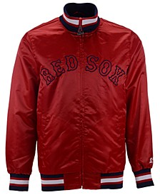 Men's Boston Red Sox Captain Coop Satin Jacket