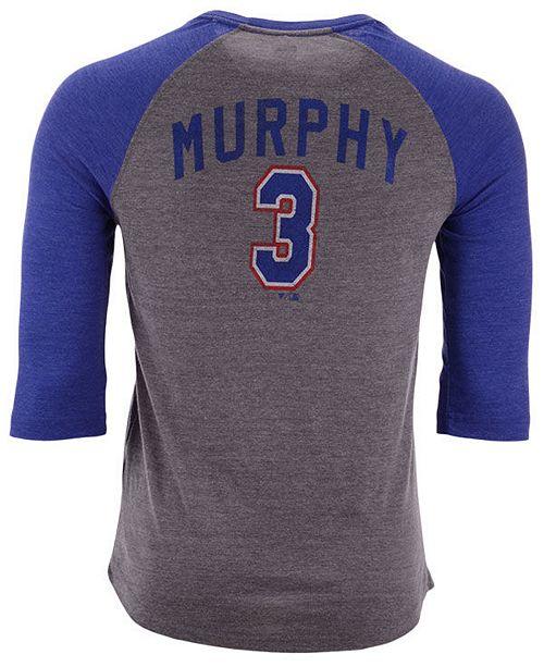 newest a5249 af984 Men's Dale Murphy Atlanta Braves Coop Batter Up Raglan T-Shirt