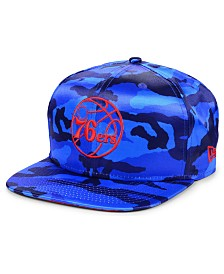 New Era Philadelphia 76ers Satin Camo 9FIFTY Cap