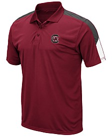 Colosseum Men's South Carolina Gamecocks Color Block Polo