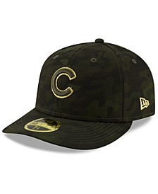 Chicago Cubs Armed Forces Day Low Profile 59FIFTY Fitted Cap