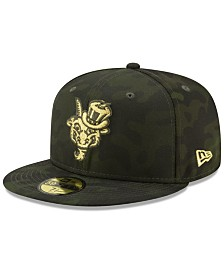 New Era Hartford Yard Goats Armed Forces Day 59FIFTY Fitted Cap