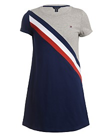 Tommy Hilfiger Little Girls Colorblocked Dress