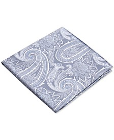 Men's Wakefield Paisley Silk Pocket Square, Created for Macy's