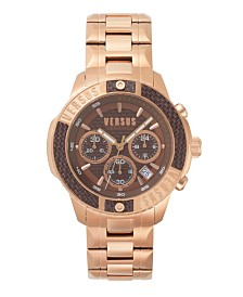 Versus Men's Rose Gold Bracelet Watch 22mm