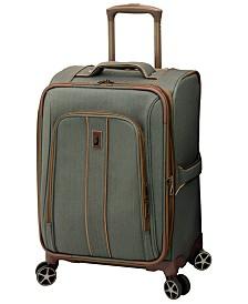 "London Fog Newcastle Softside 20"" Spinner Suitcase"