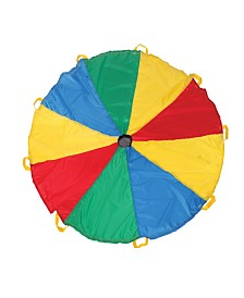 Pacific Play Tents Funchute Parachute - 6Ft Dia - Yellow/Red/Blue
