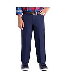 Haggar Boys Cool 18 Pro, Reg Fit, Flat Front Pant Size 4 - 7