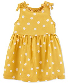 Carter's Baby Girls Dot-Print Dress