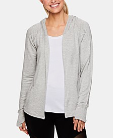 Relaxed Hooded Wrap