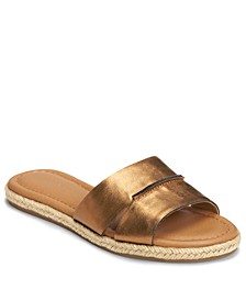 Back Drop Slide Sandals