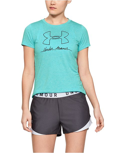 Under Armour Women's UA Tech Logo T-Shirt