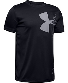 Under Armour Big Boys UA Tech™ Logo-Print T-Shirt