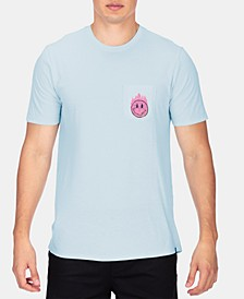Men's Premium Hot Smile Graphic T-Shirt