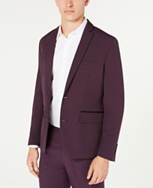 I.N.C. Men's Slim-Fit Skull-Lined Blazer, Created for Macy's