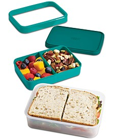 GoEat Compact 2-in-1 Lunch Box