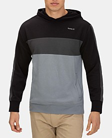 Men's Colorblocked Pullover Hoodie