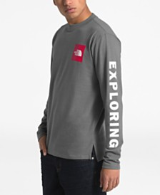 The North Face Men's Collegiate Logo Graphic Long Sleeve T-Shirt