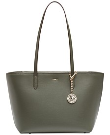 Sutton Leather Bryant Medium Tote, Created for Macy's