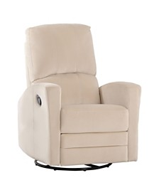 Charlotte Swivel Recliner, Quick Ship