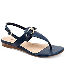 Charter Club Ondreaa Thong Flat Sandals, Created for Macy's