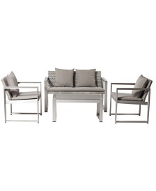 Pangea Home Chester Sofa Set