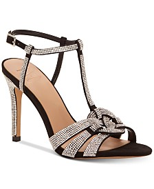 I.N.C Rowyn Rhinestone Evening Sandals, Created for Macy's