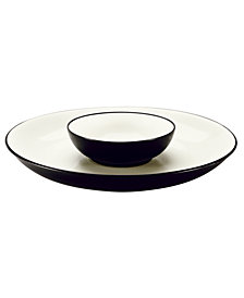 Noritake Dinnerware, Colorwave Chip & Dip
