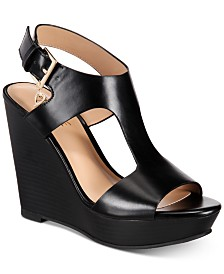 Thalia Sodi Valleri Wedge Sandals, Created for Macy's