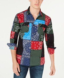 Levi's® Men's Bandana Patch Shirt