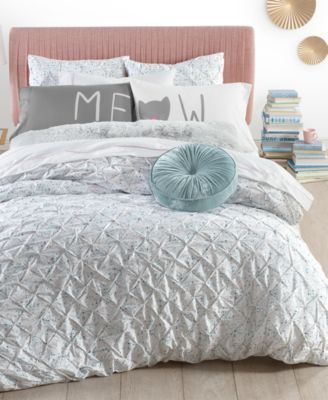 CLOSEOUT! Pleated Drop 2-Pc. Twin/Twin XL Comforter Set, Created for Macy's