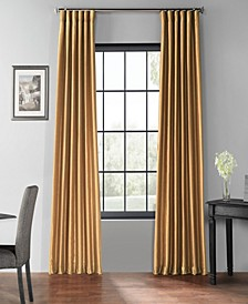"Blackout Vintage Textured 50"" x 84"" Curtain Panel"