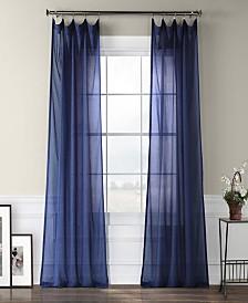 "Exclusive Fabrics & Furnishings Sheer 50"" x 108"" Curtain Panel"