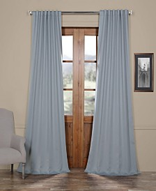 "Exclusive Fabrics & Furnishings Blackout 50"" x 108"" Curtain Panel"