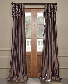 "Exclusive Fabrics & Furnishings Ruched Taffeta 50"" x 108"" Curtain Panel"