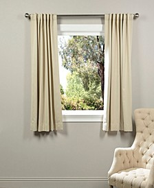 "Blackout 50"" x 63"" Curtain Panel"