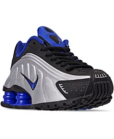 Boys' Shox R4 Casual Sneakers from Finish Line