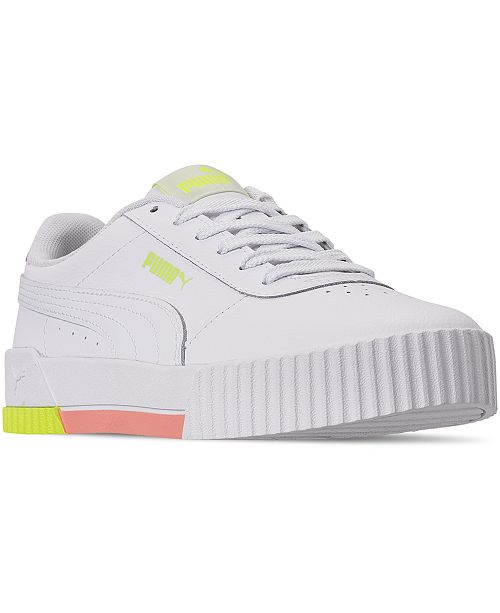 Sneakers Puma Leather Casual Line From Women's Finish Carina tBhCxdsQr